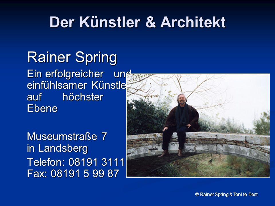 Der Künstler & Architekt
