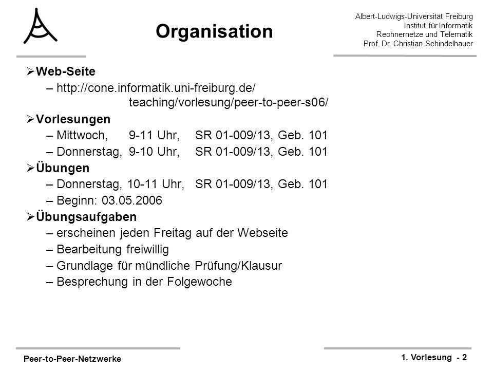 Organisation Web-Seite