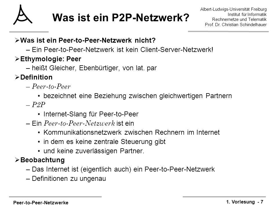 Was ist ein P2P-Netzwerk