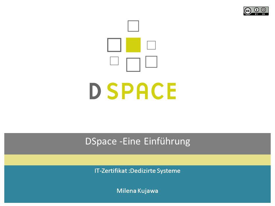 DSpace -Eine Einführung