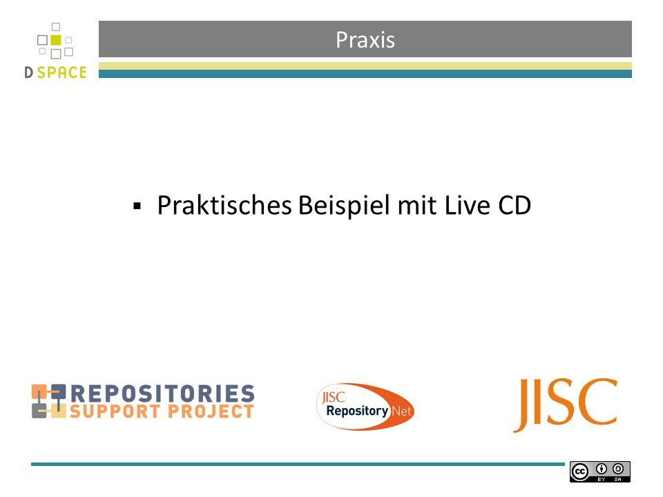 Praktisches Beispiel mit Live CD