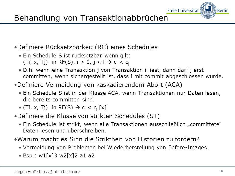 Behandlung von Transaktionabbrüchen