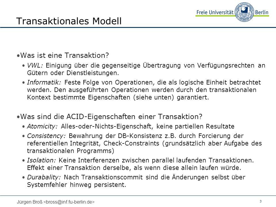 Transaktionales Modell