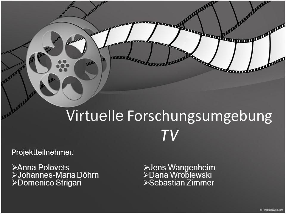 Virtuelle Forschungsumgebung TV