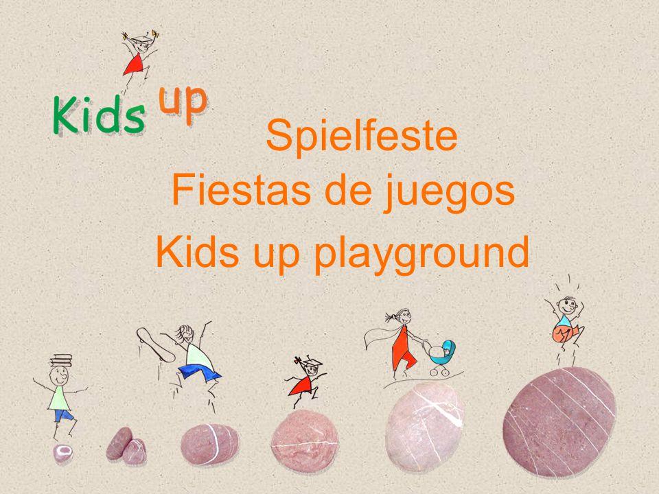 Spielfeste Fiestas de juegos Kids up playground