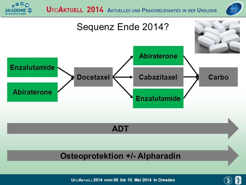 Osteoprotektion +/- Alpharadin