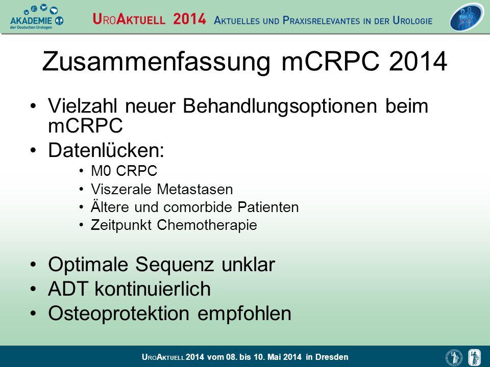 Zusammenfassung mCRPC 2014
