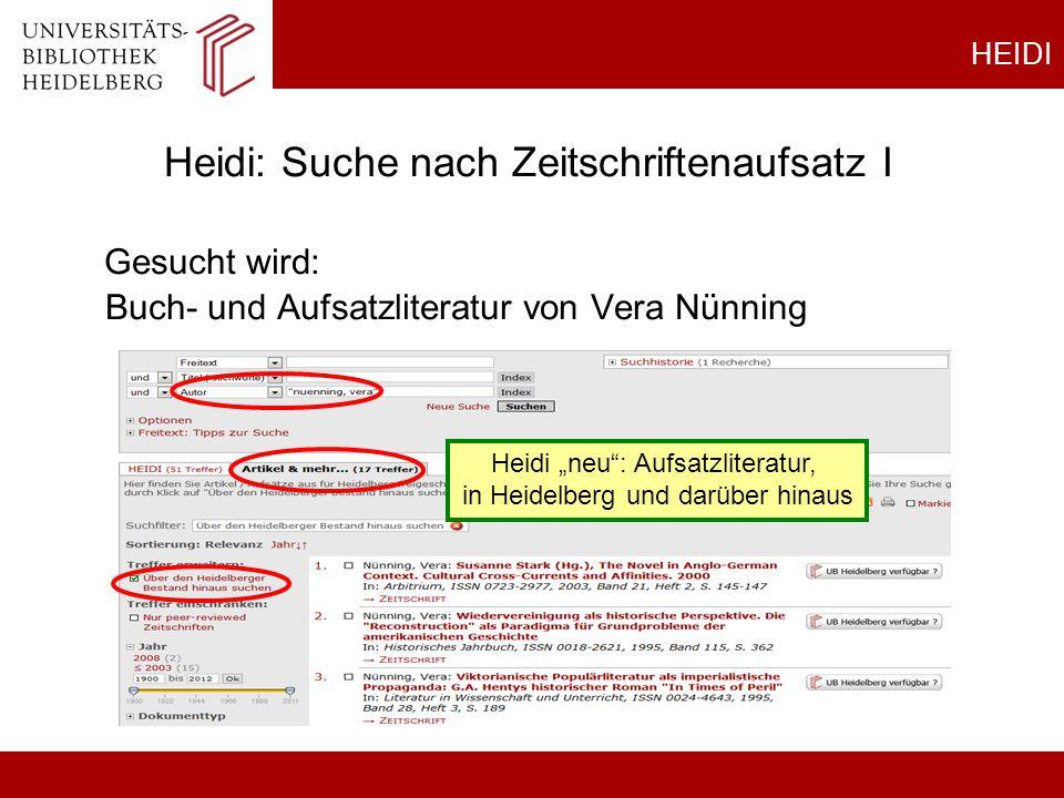 Gesucht wird: Buch- und Aufsatzliteratur von Vera Nünning