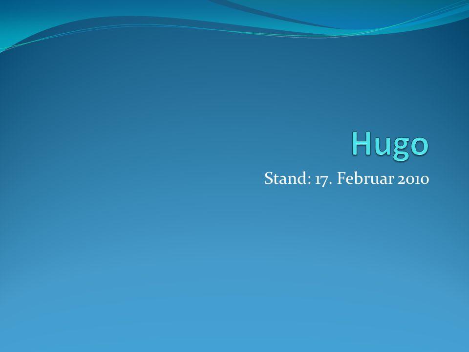 Hugo Stand: 17. Februar 2010