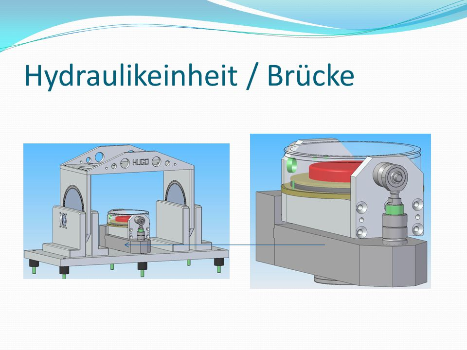 Hydraulikeinheit / Brücke