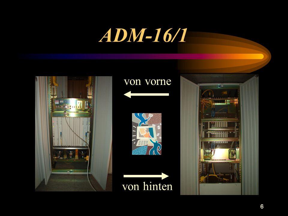 ADM-16/1 von vorne von hinten