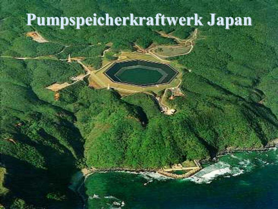 Pumpspeicherkraftwerk Japan