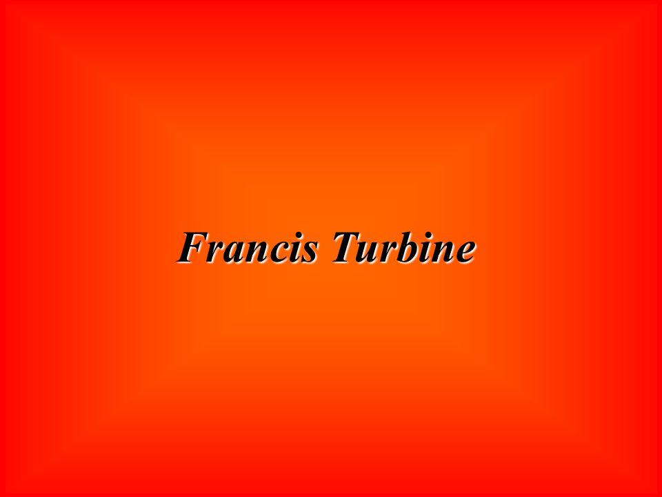 Francis Turbine Ich beginne mit der Francis Turbine: