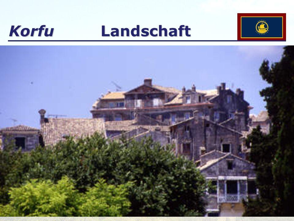 Korfu Landschaft
