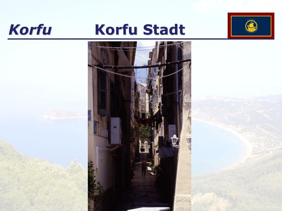 Korfu Korfu Stadt