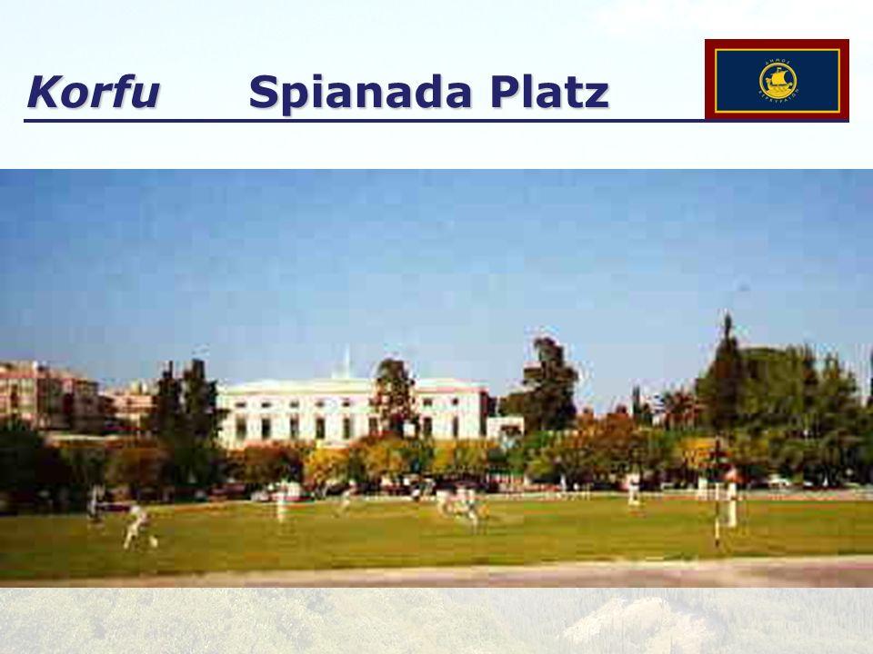 Korfu Spianada Platz