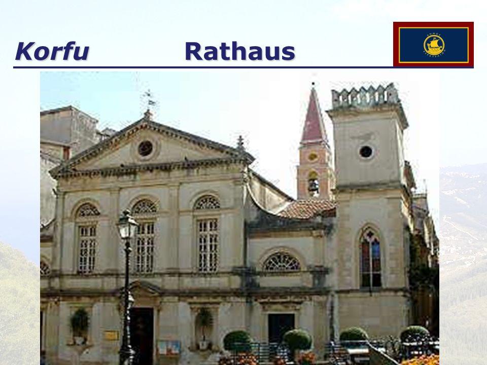 Korfu Rathaus