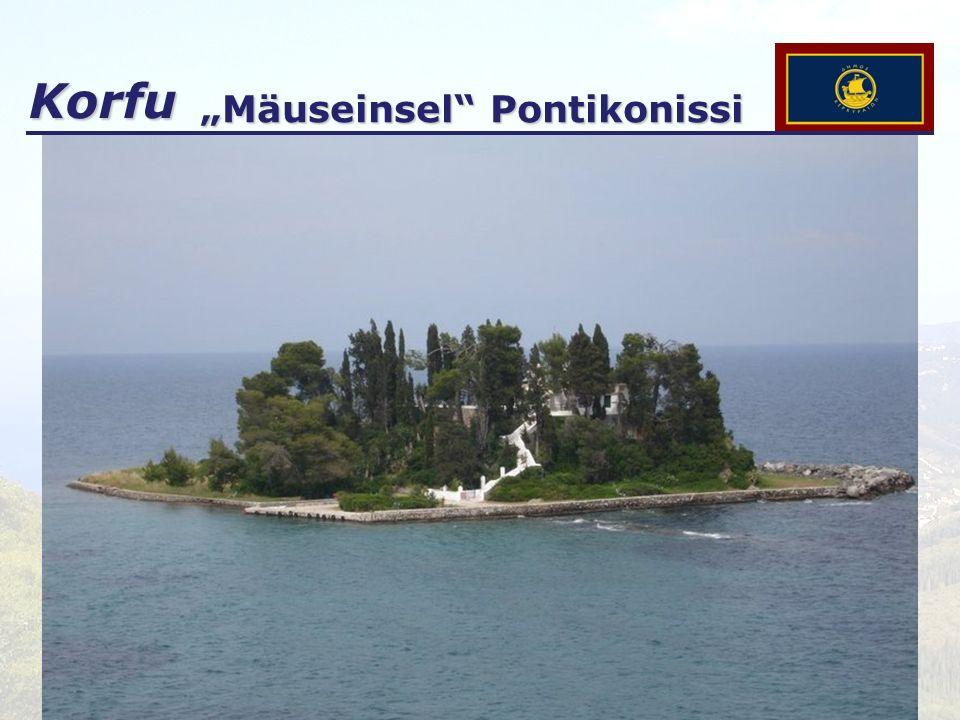 """""""Mäuseinsel Pontikonissi"""