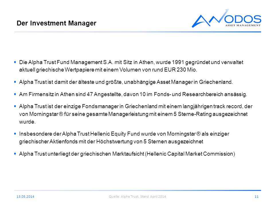 Der Investment Manager