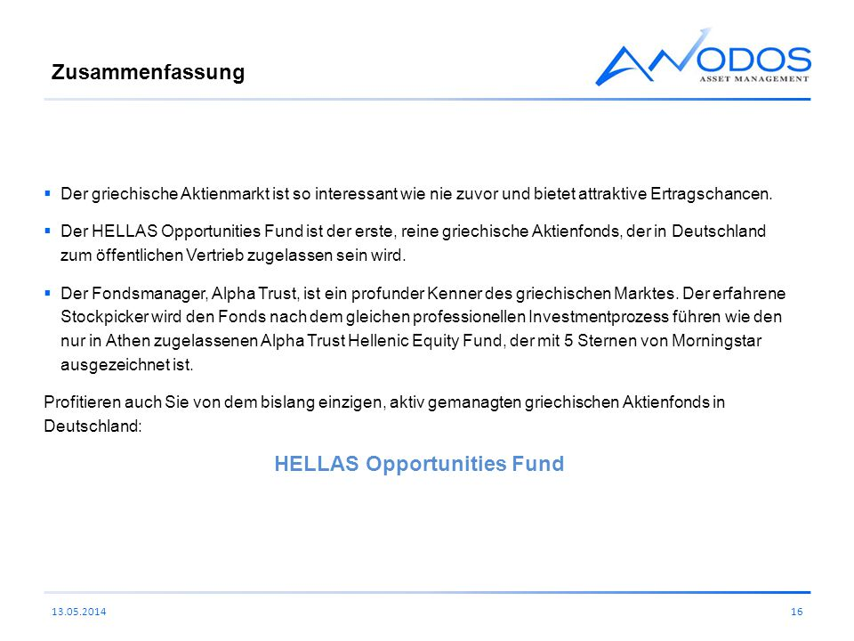 HELLAS Opportunities Fund