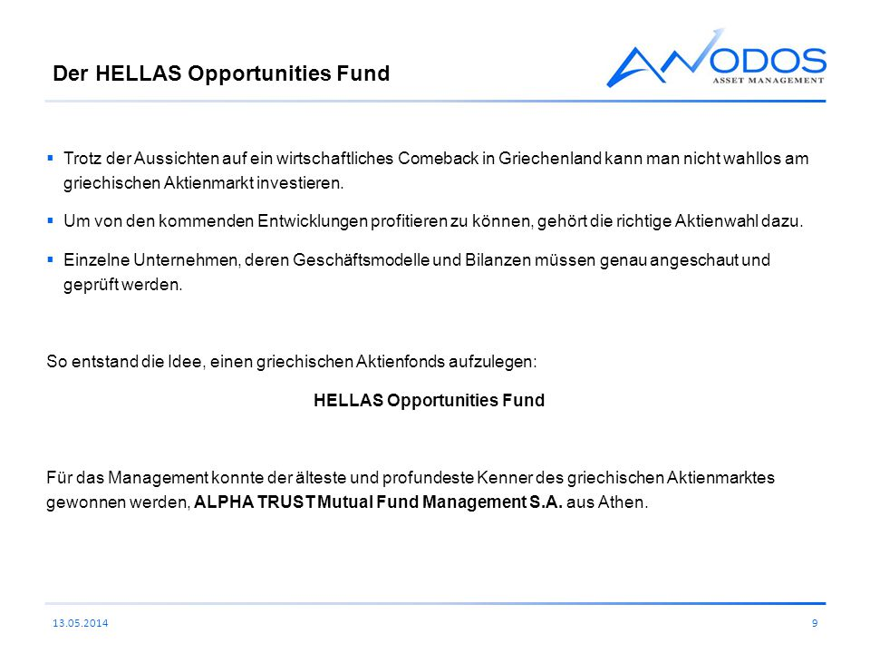 Der HELLAS Opportunities Fund