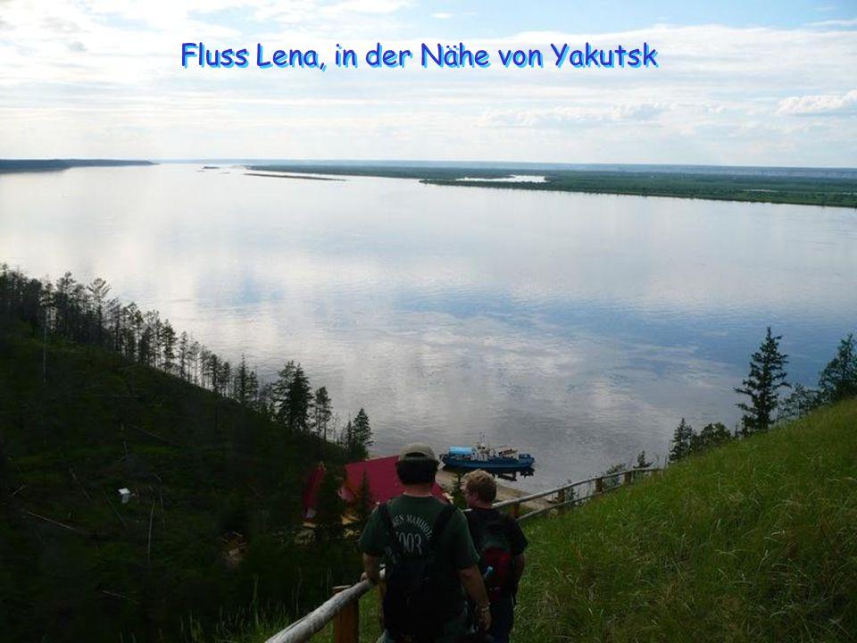 Fluss Lena, in der Nähe von Yakutsk