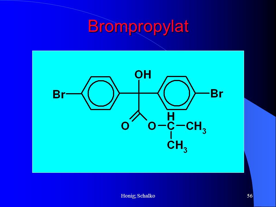 Brompropylat Honig; Schalko