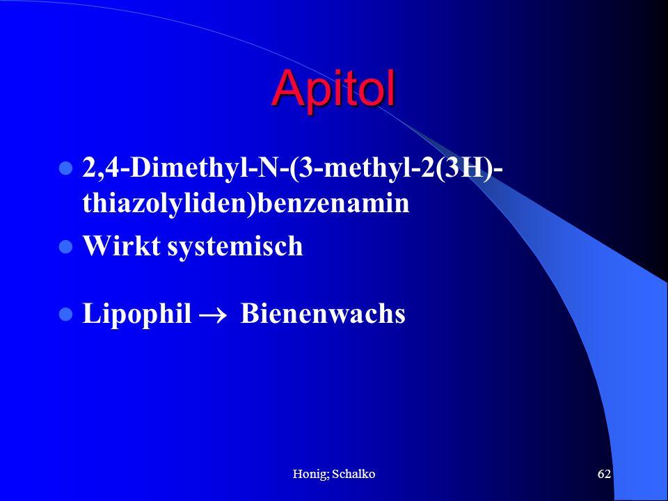 Apitol 2,4-Dimethyl-N-(3-methyl-2(3H)-thiazolyliden)benzenamin