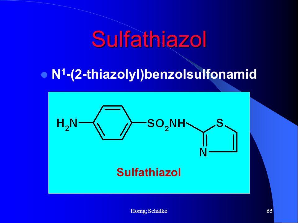 Sulfathiazol N1-(2-thiazolyl)benzolsulfonamid Sulfathiazol