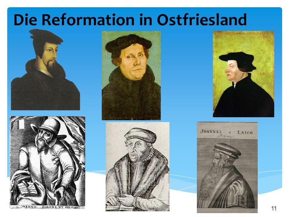Die Reformation in Ostfriesland