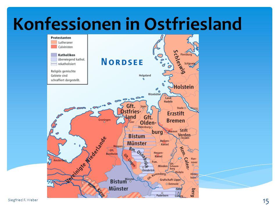 Konfessionen in Ostfriesland