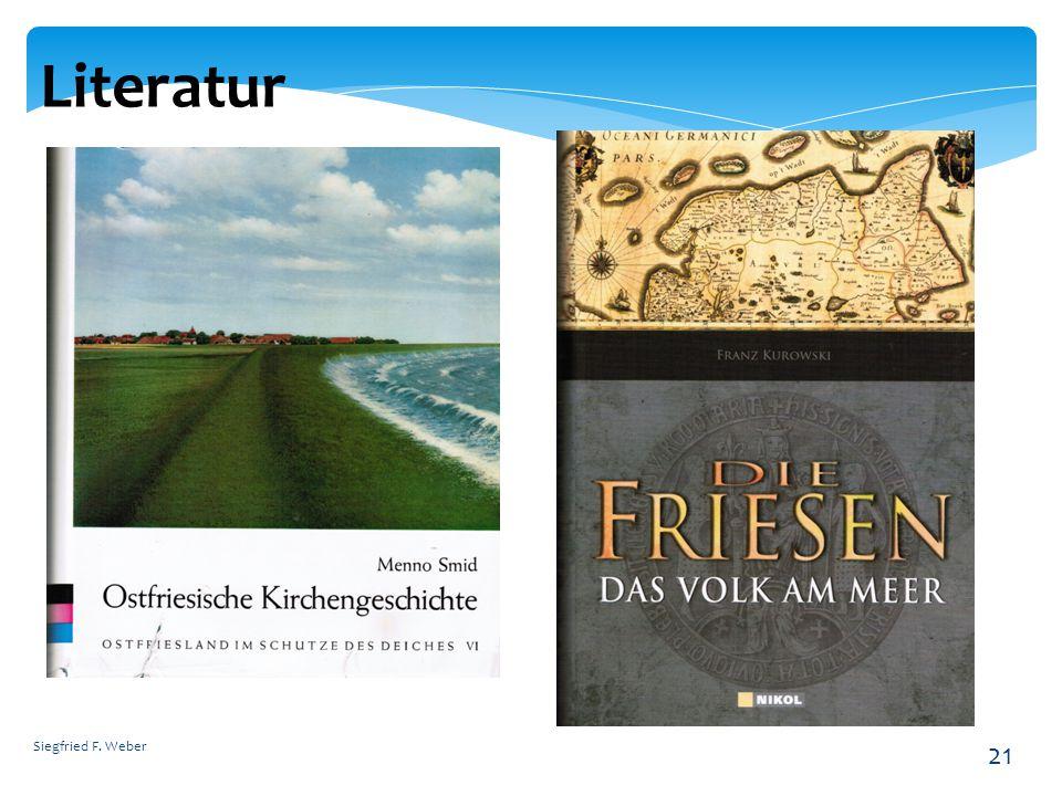 Literatur Siegfried F. Weber