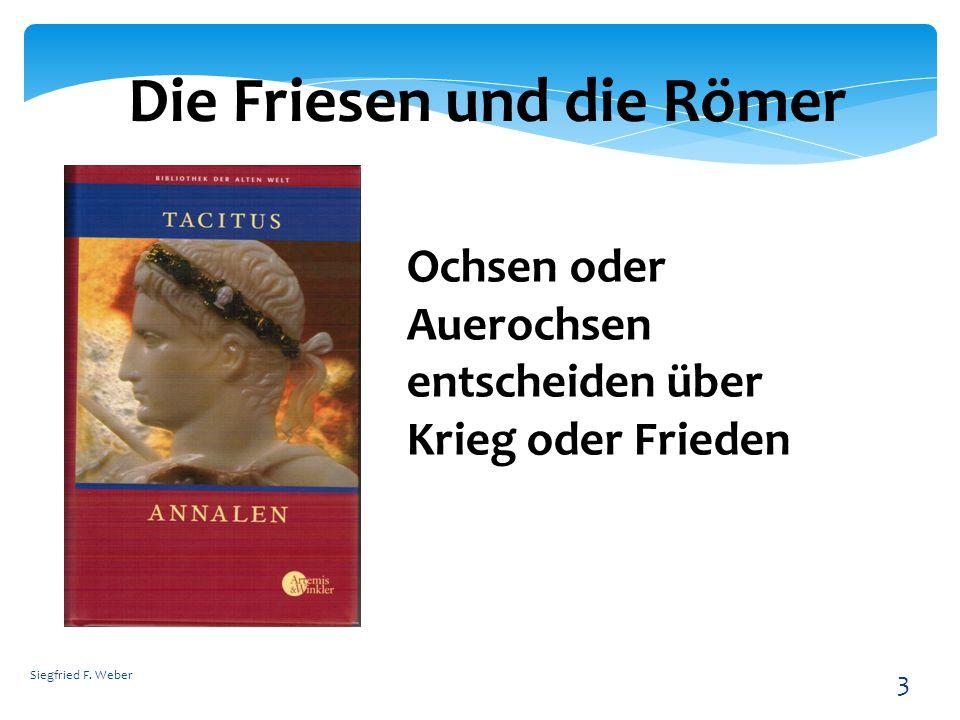 Die Friesen und die Römer