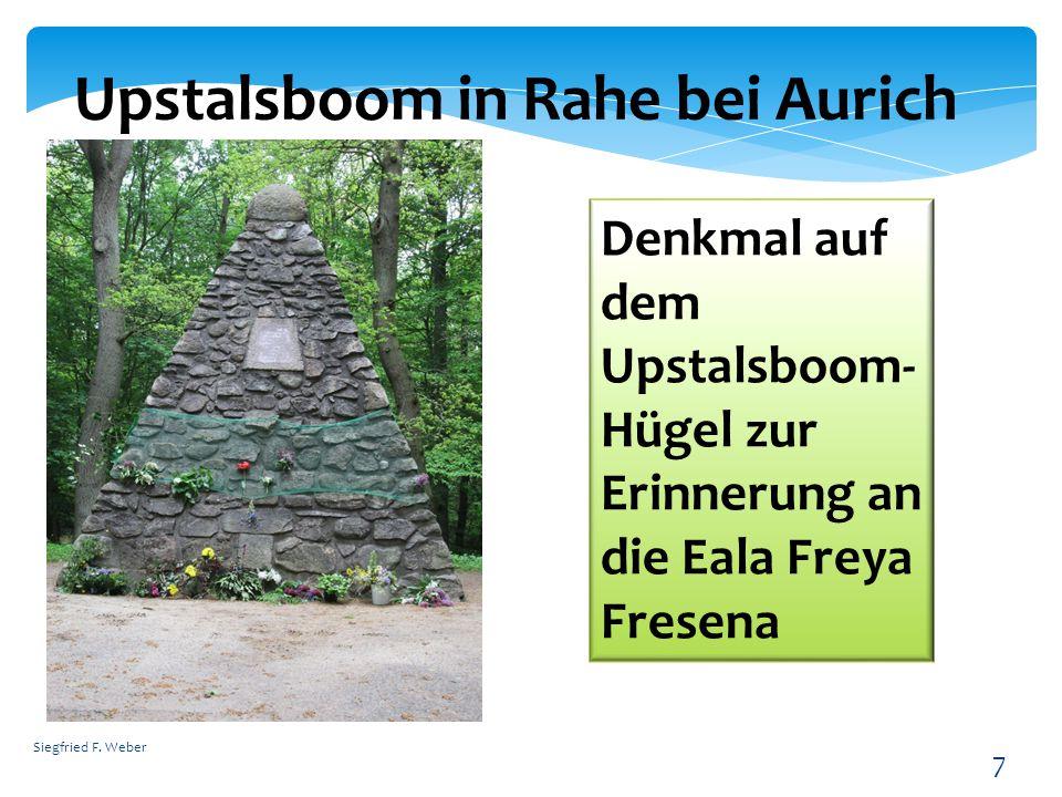 Upstalsboom in Rahe bei Aurich