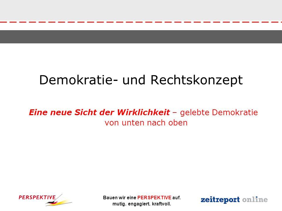 Demokratie- und Rechtskonzept