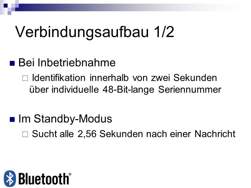 Verbindungsaufbau 1/2 Bei Inbetriebnahme Im Standby-Modus