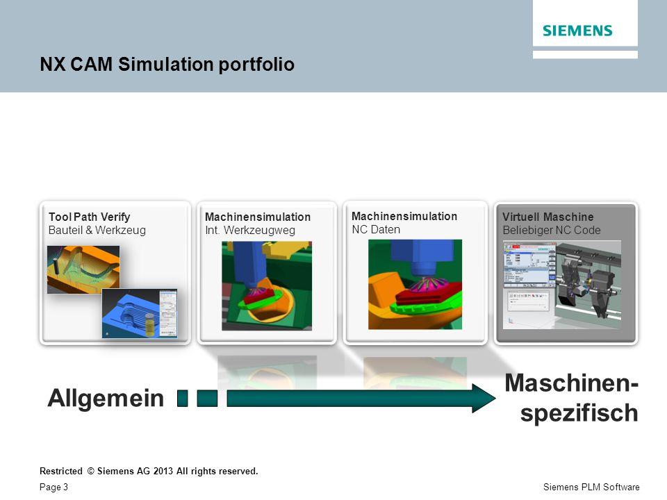 NX CAM Simulation portfolio