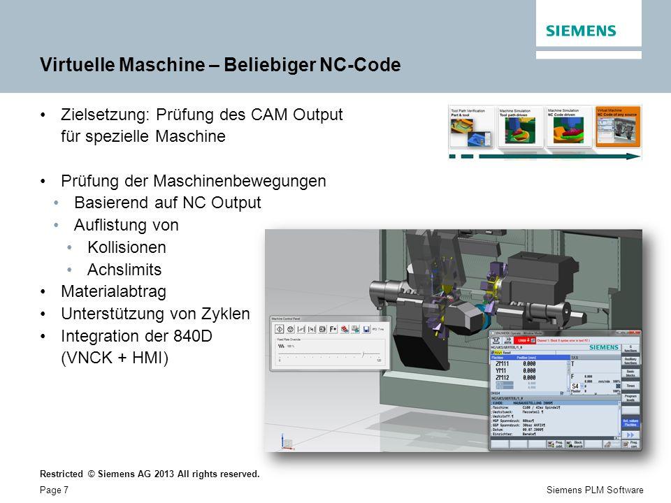 Virtuelle Maschine – Beliebiger NC-Code
