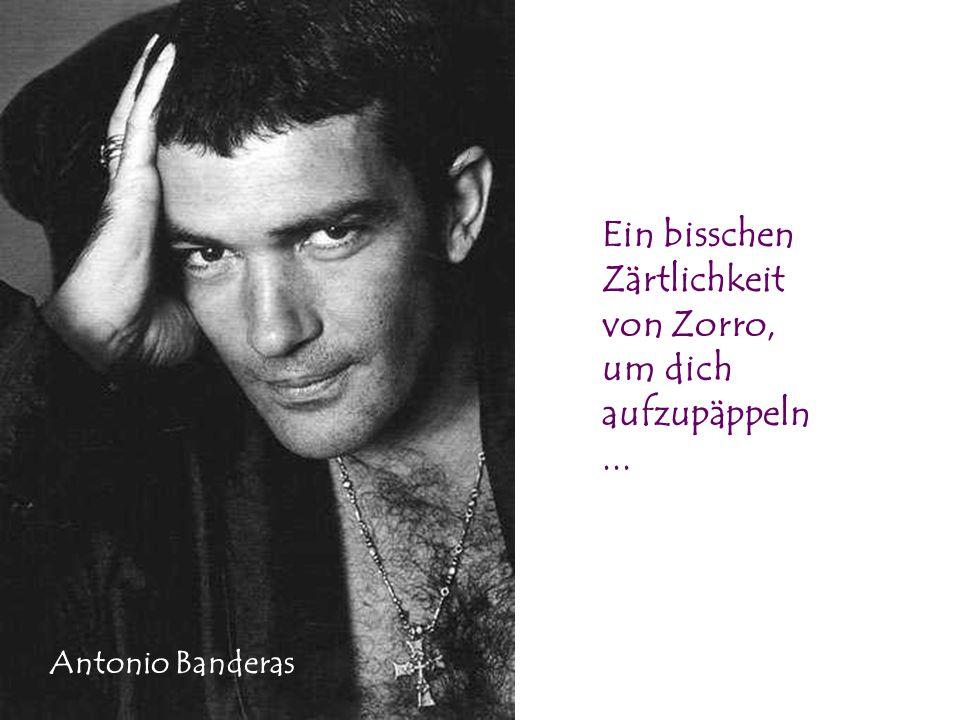Ein bisschen Zärtlichkeit von Zorro, um dich aufzupäppeln ...