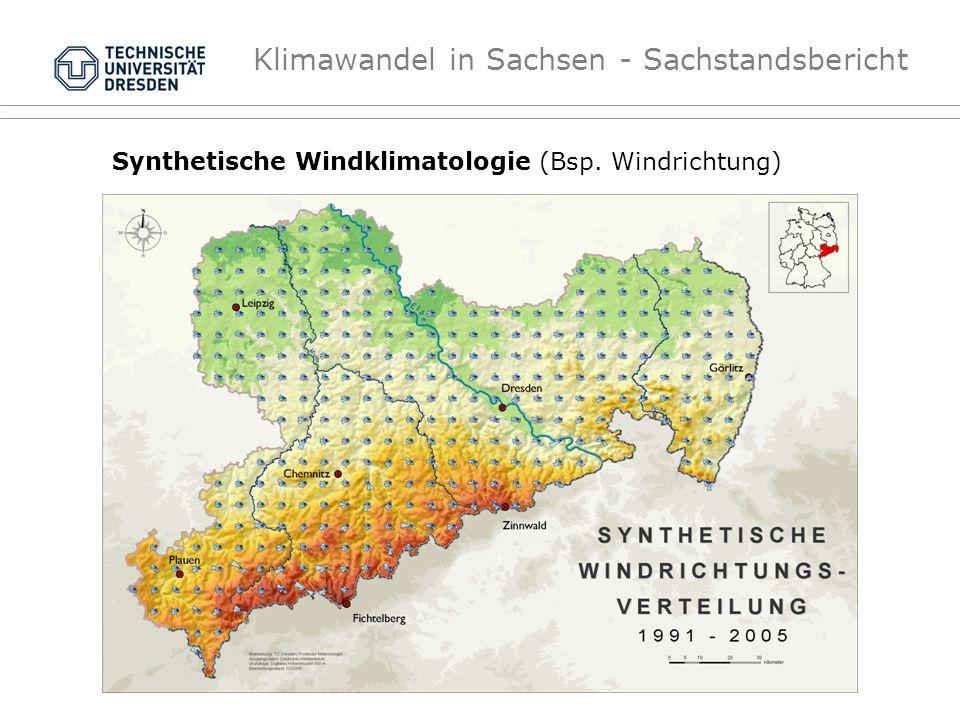 Synthetische Windklimatologie (Bsp. Windrichtung)