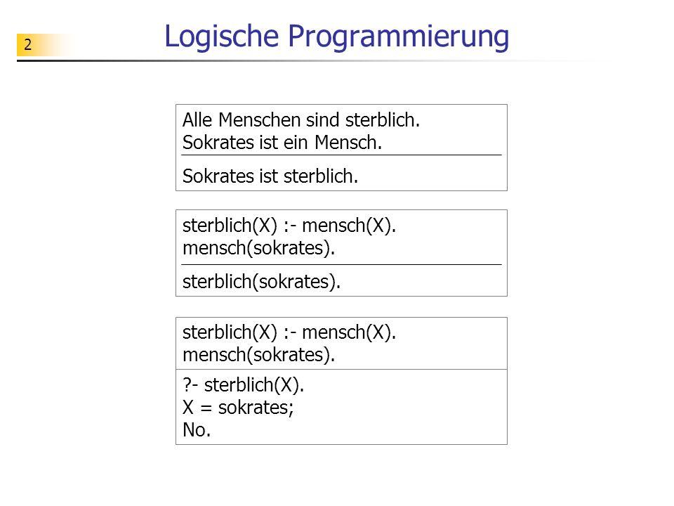 Logische Programmierung