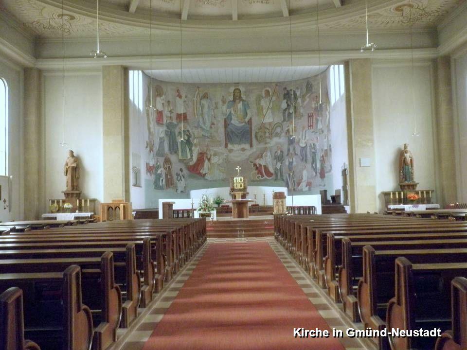 Kirche in Gmünd-Neustadt