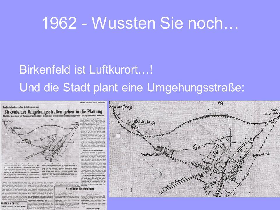 1962 - Wussten Sie noch… Birkenfeld ist Luftkurort…!