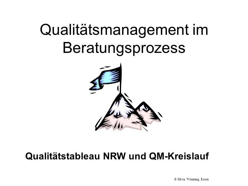 Qualitätsmanagement im Beratungsprozess
