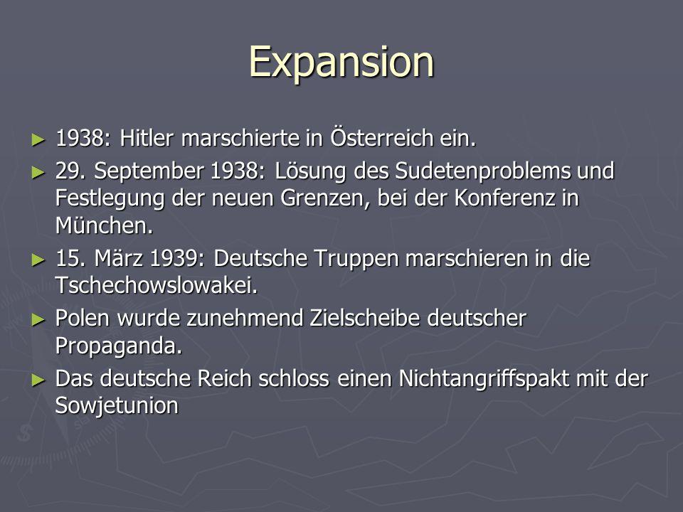 Expansion 1938: Hitler marschierte in Österreich ein.