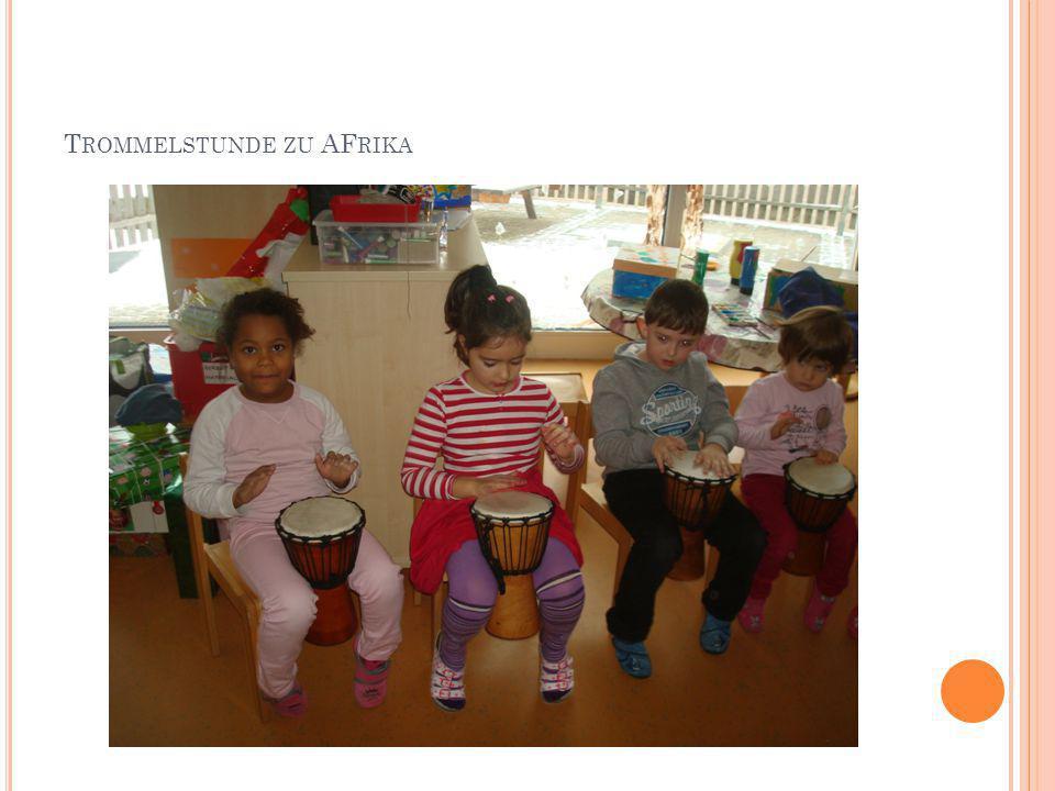 Trommelstunde zu AFrika