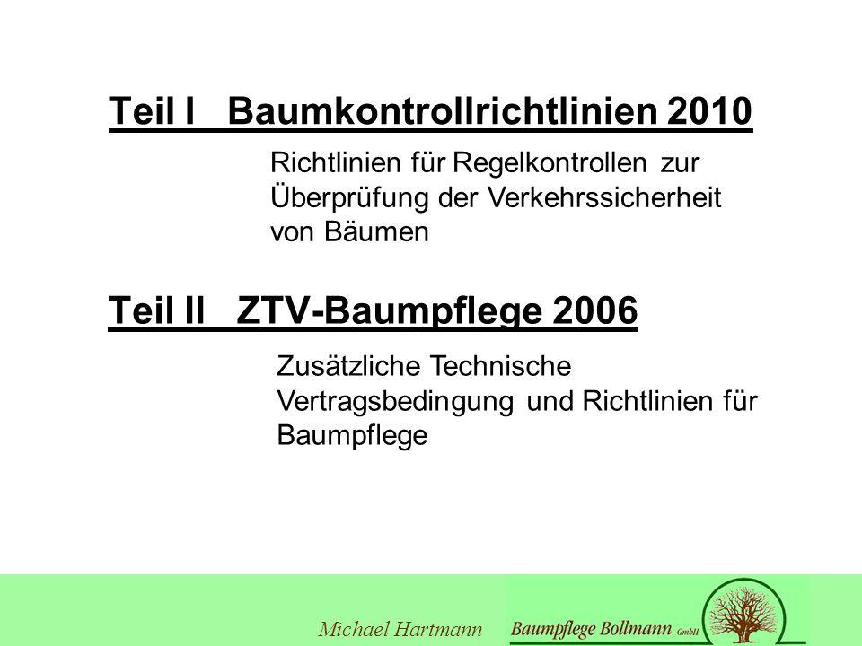 Teil I Baumkontrollrichtlinien 2010