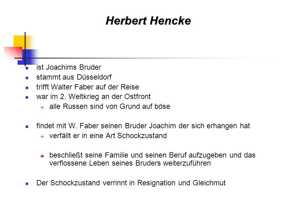 Herbert Hencke ist Joachims Bruder stammt aus Düsseldorf