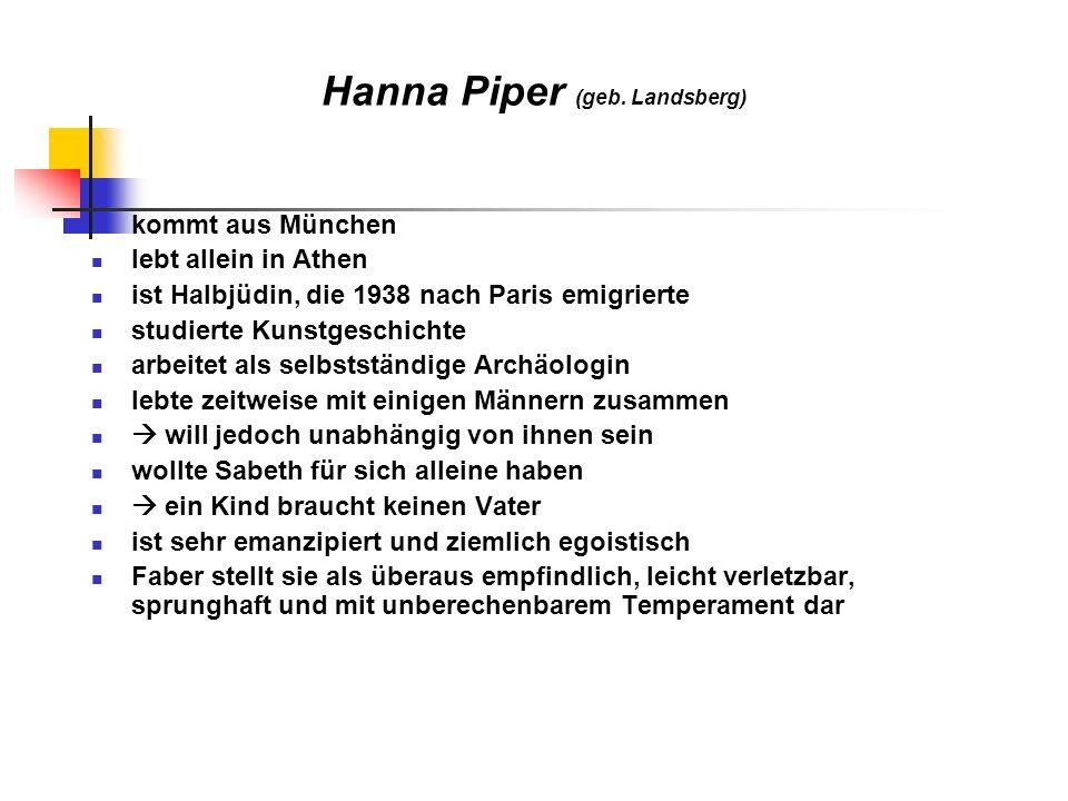 Hanna Piper (geb. Landsberg)