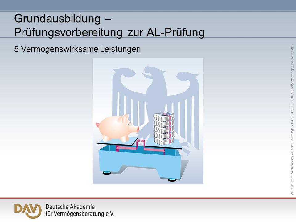 Grundausbildung – Prüfungsvorbereitung zur AL-Prüfung